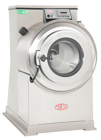 A Milnor Washer Extractor   Commercial grade washing machine